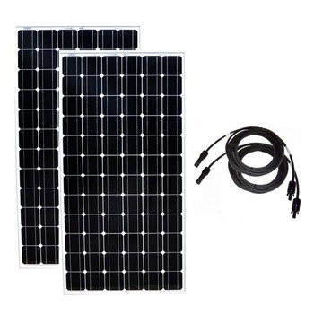 Solar Panel 200w 24v Monocrystalline 2 Pcs Paneles Solares 400w 48v Solar Battery Charger Solar Home System Motorhomes Caravan