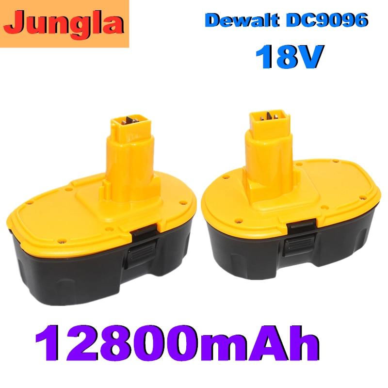 Новый 18 в 12.8Ah металл-гидридных или никель Мощность инструмент для Dewalt DC9096 DE9039 DE9095 DW9098 DE9503 DW9096 Замена Батарея