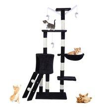 Cat climbing Scratching Post Climbing Tree Toy Cat Tree Scratchers Activity Protecting Furniture Pet House Cat Furniture