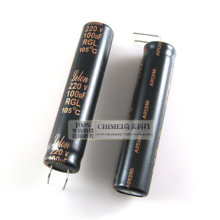 Free Delivery. <font><b>Electrolytic</b></font> capacitor 220 v, <font><b>100</b></font> <font><b>uf</b></font> capacitor image