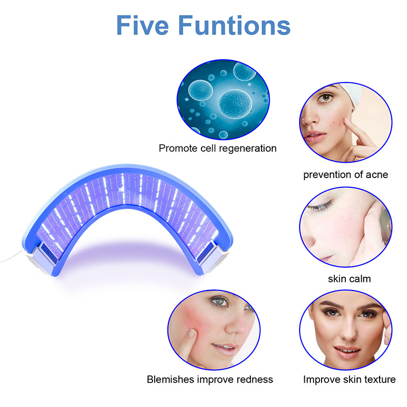 Hydraskincare 2 in1 EMS LED Photon Therapy Anti-aging Facial Skin Care Beauty Device EMS Body Slimming Weight Loss