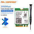 High Speed 802.11 AX /AC Dual Band 2974Mbps Wireless Wifi 6 AX200 M Wifi Bluetooth 5.0 Network Card 2.4G/5G Network Card|Network Cards| |  -
