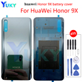New Original For Huawei Honor 9X Pro Battery Cover Glass Rear Door Case For Honor 9X Battery Cover For Honor 9X Back Cover