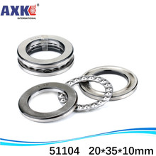(1pcs) Axial Ball Thrust Bearing 51104 20*35*10 mm Plane thrust ball bearing