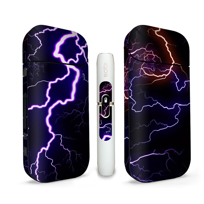 Printing PVC Material Skin <font><b>Sticker</b></font> Case Sleeve Antidust Decorative Protective Cover For <font><b>IQOS</b></font> 2.4/2.4 Plus image