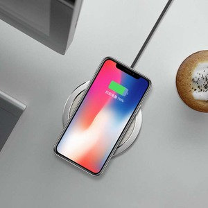 Image 4 - ROCK 10W W4 2A Qi Wireless Charger for IPhone X 8 8 Plus Fast Charging Disk Charger for Samsung S9 S8 S7 беспроводная зарядка