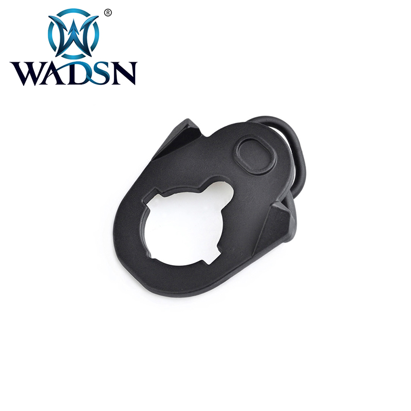 WADSN Hunting Aluminium Loop Sling Swivel Adapter For Single Point Slings ASP Strap Sling For AEG ME04016 Paintball Accessories