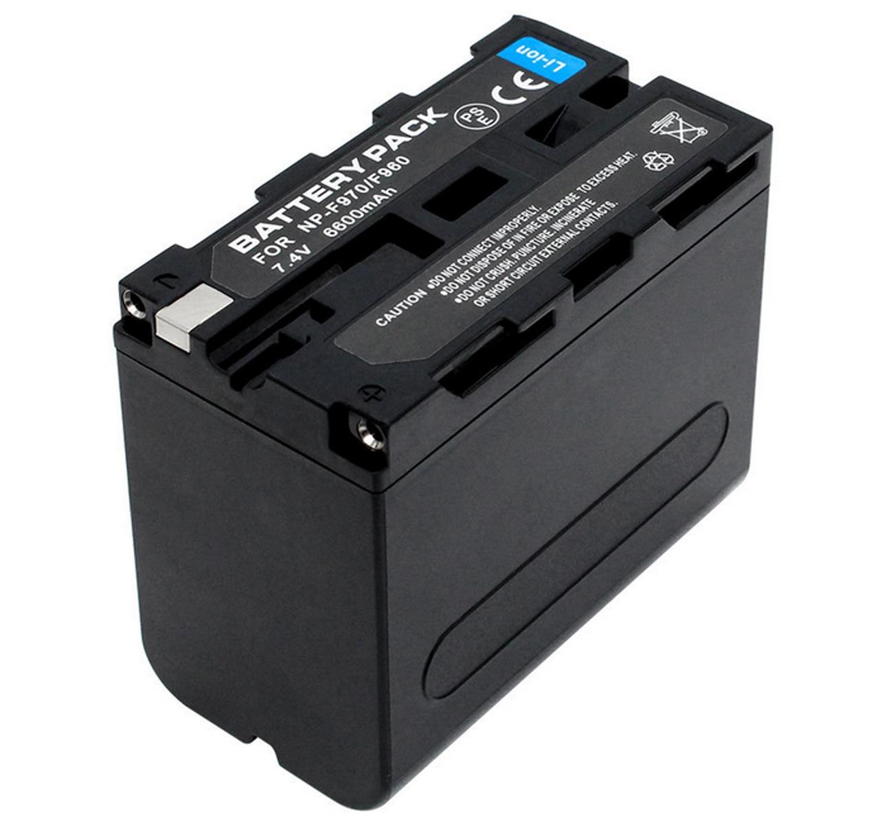 Battery Pack For Sony NP-F930, NP-F950, NP-F950/B, NP-F960, NP-F970, NP-F 970, NPF970, 2NP-F970/B InfoLITHIUM L Series