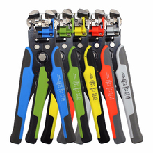 цена на Wire Stripper Multifunctional Crimping Pliers Stripping HS-D1 Crimper Cable Terminal 0.2-6.0mm Cutting Multi-functional Tools