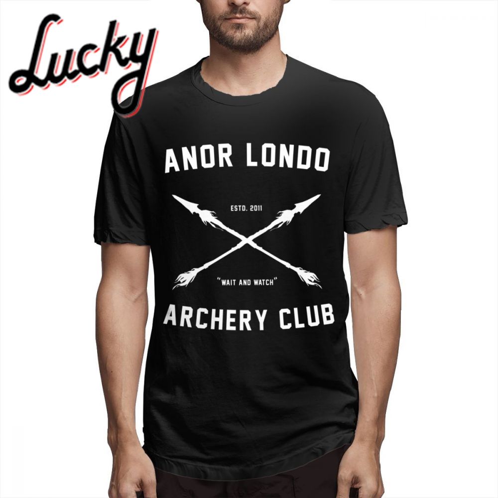 For Male Bloodborne ANOR <font><b>LONDO</b></font> ARCHERY CLUB T-shirt 2019 New Arrival 3D Print Hot SaleT-Shirt image