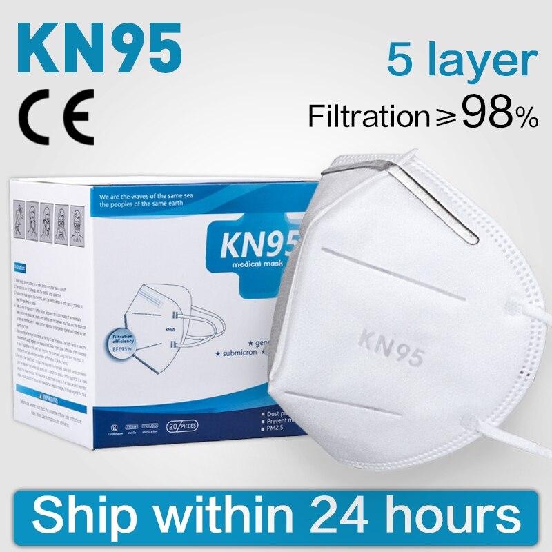 Masks-n95-respirator Reusable Respirator Facemask Mascarillas Women Men Fashion Face-mask-protective Ffp3mask-n95