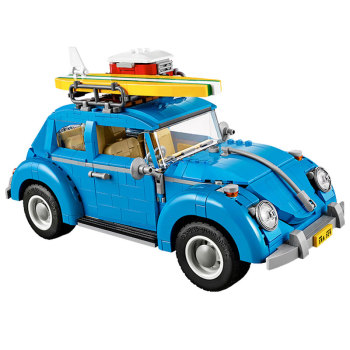 21003 1193Pcs Creator Series City Car Volkswagen Beetle Beetle model Building Blocks sets education toys for Kids gifts 2