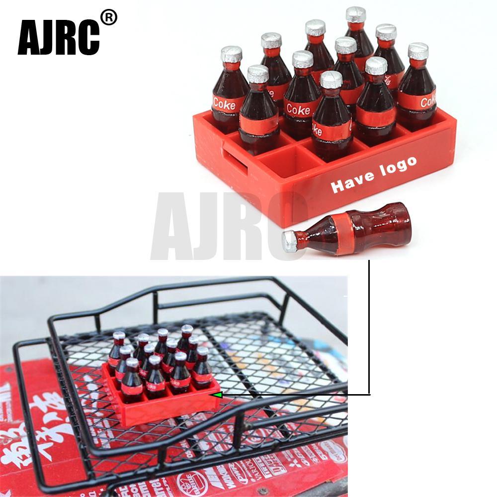 AJRC TRAXXAS 1/10 simulation climbing car decoration mood pieces Simulation Coke bottle TRX4 scx10 90046 90047 AXIAL D90 D100
