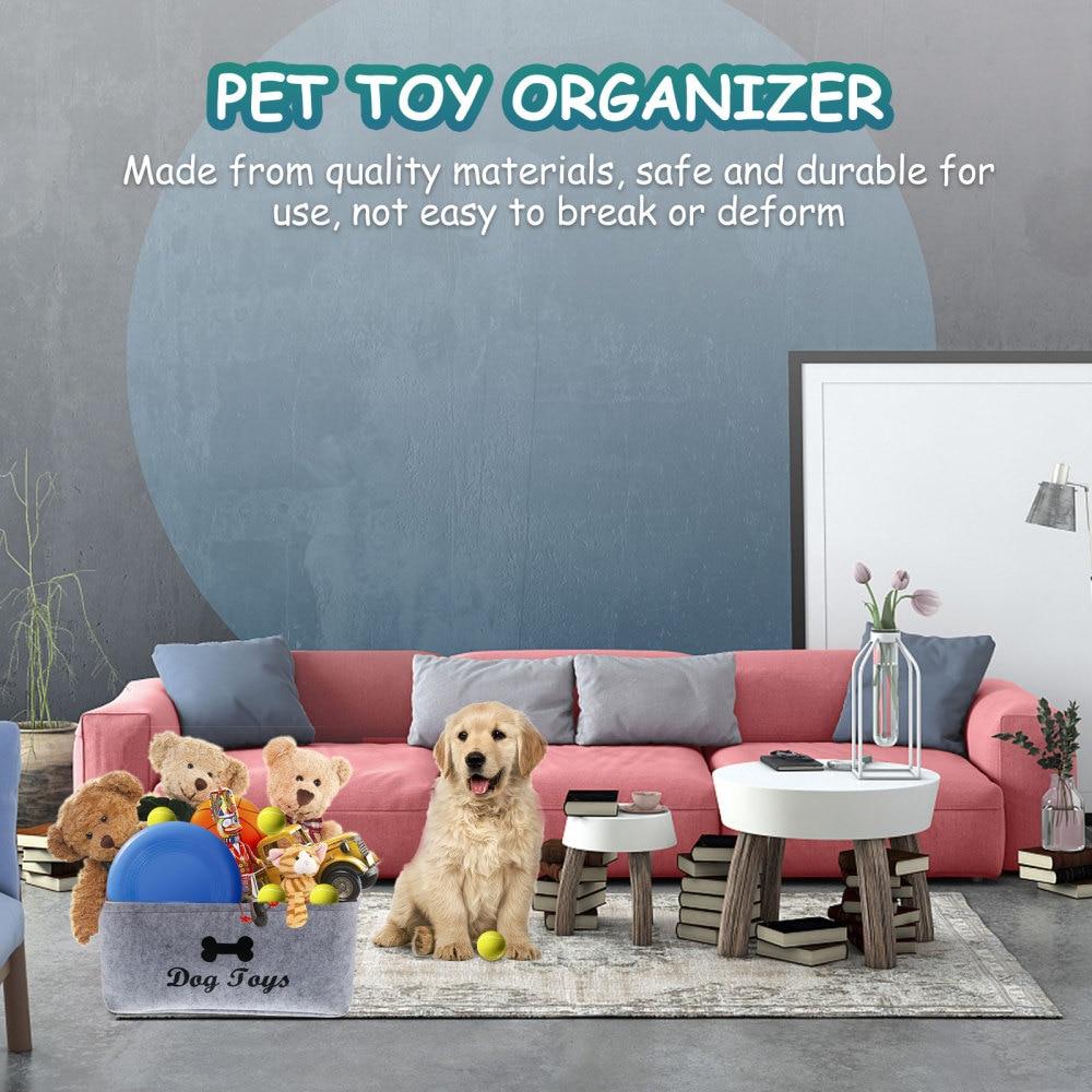 Pet Toy Storage Basket