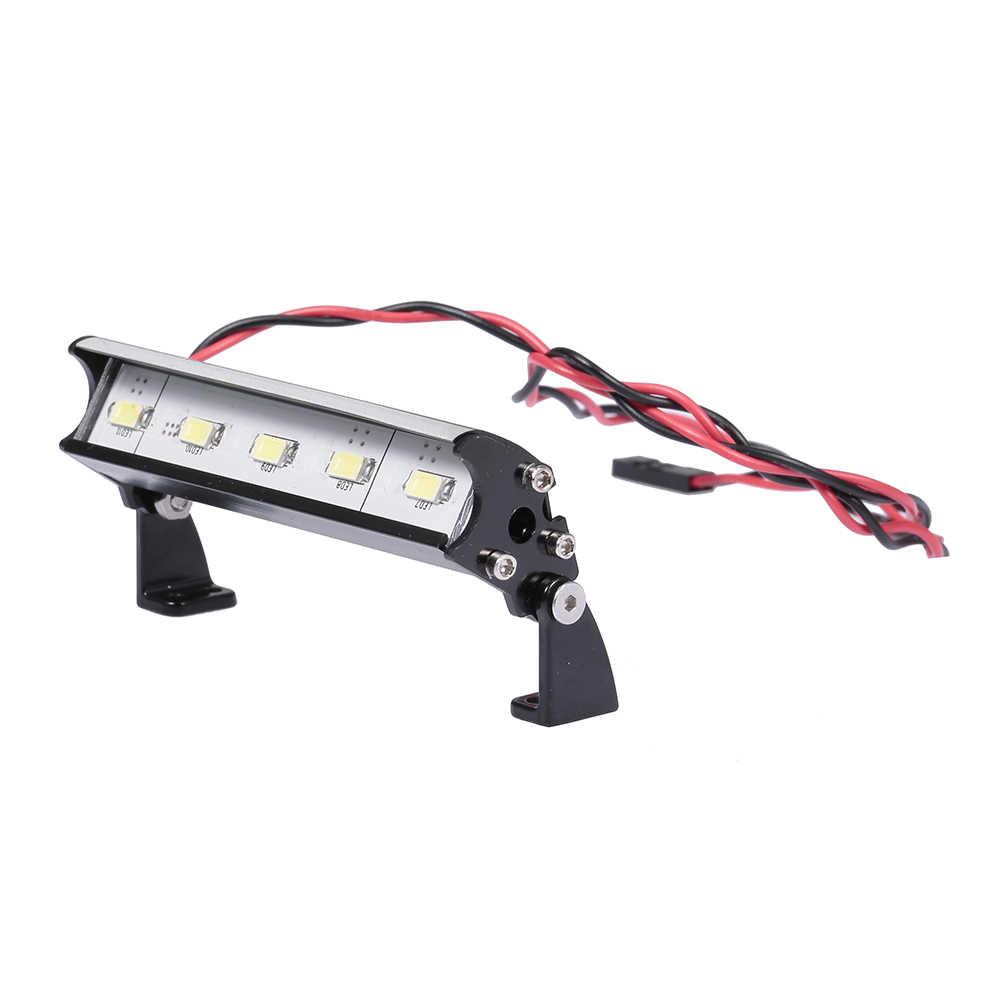 70 мм фары 5 светодиодных ламп для Traxxas Rustler Bandit Nitro Rustler Jato Redcat Backdraft 3,5 ECX 1/18 Roost RC внедорожный купол