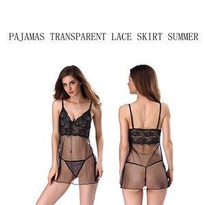 Image 4 - Bielizna Erotyczna ฤดูร้อนชุดชั้นในเซ็กซี่ชุด PLUS ขนาดชุดชั้นในเร้าอารมณ์ Babydoll ชุดนอนสำหรับสตรี Sex Nightdress