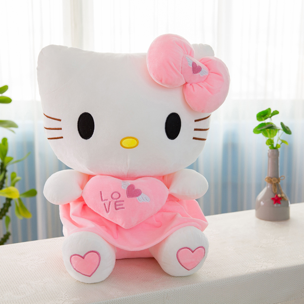 Hello kitty Plush Toys Baby toys Pokemon Animal Cat Cotton Decoration Doll Gift Pendant Pet Pillow  bing   Women   Blanket  Gift