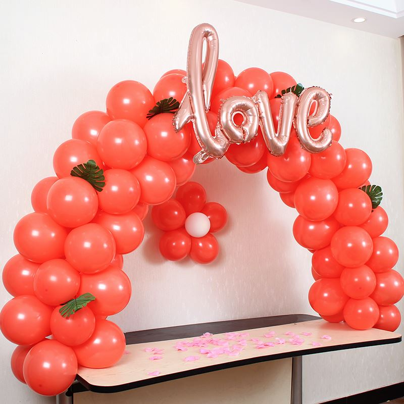 Festival Perfect Memorable Large Balloon Wedding Arch Set Column Stand Base Frame Kit Birthday Party Decor Trouw Decoratie FAS6