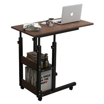 ベッドサイドテーブル持ち上げることができるコンピュータテーブルモバイル小型テーブルホームデスク寝室のベッドサイドテーブル怠惰なテーブル