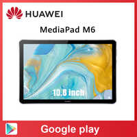 Original Huawei Mediapad M6 10,8 zoll 4GB 64GB WIFI Kirin 980 Octa-core Android 9,0 Tablet Typ-C Google spielen GPU Turbo 3,0