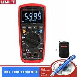 UNI-T UT139S 3 5/6 True RMS multimetr cyfrowy multimetr czujnik temperatury LPF filtr przepustowy LoZ niska impedancja wejście i czarna torba