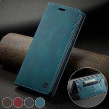 Telefoon Bag Case Voor Samsung Galaxy S21 Plus Ultra Case Flip Leather Wallet Cover Voor Samsung S21 S 21 Luxe matte Magnetische Gevallen