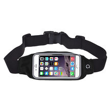 Universal outdoor Sports Running Gym Waist Belt Bag Case Cover for iphone 6 Plus 5.5(China)