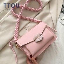 Ttou однотонная сумка из искусственной кожи основная Женская