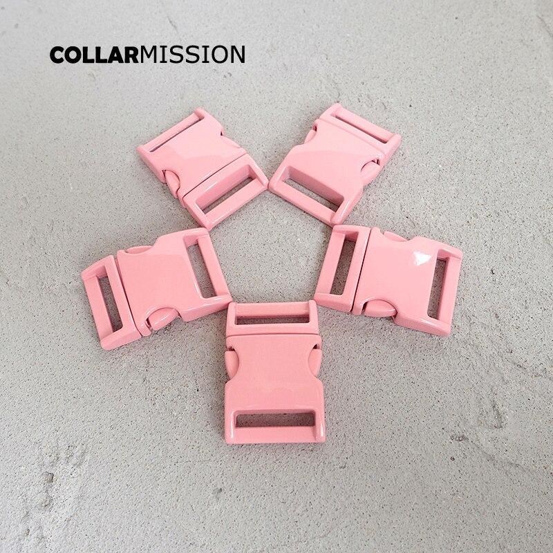 Розничная продажа, розовая металлическая пряжка, БЫСТРОРАЗЪЕМНАЯ сторона для сумки для одежды, аксессуары для собак, 20 мм, шитье, сделай сам,...