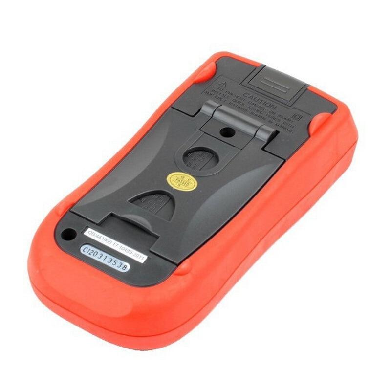 escala automática para tensão, corrente, resistência, capacitância e medição de temperatura