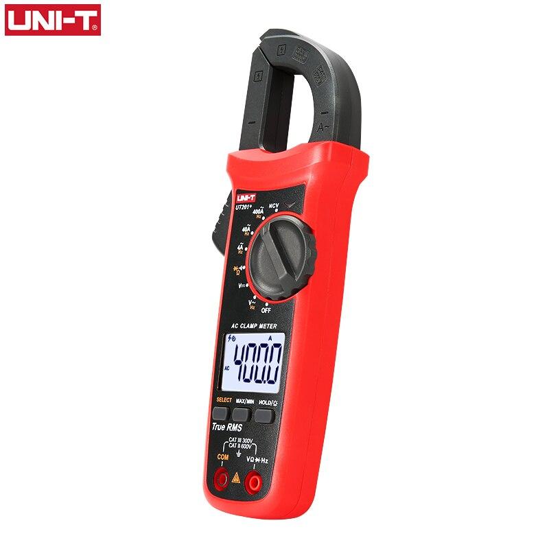 Tools : UNI T UNI-T Digital Clamp Meter UT201  UT202  UT203  AC DC Current Amperimetro Tester Clamp Multimeter Resistance Frequency
