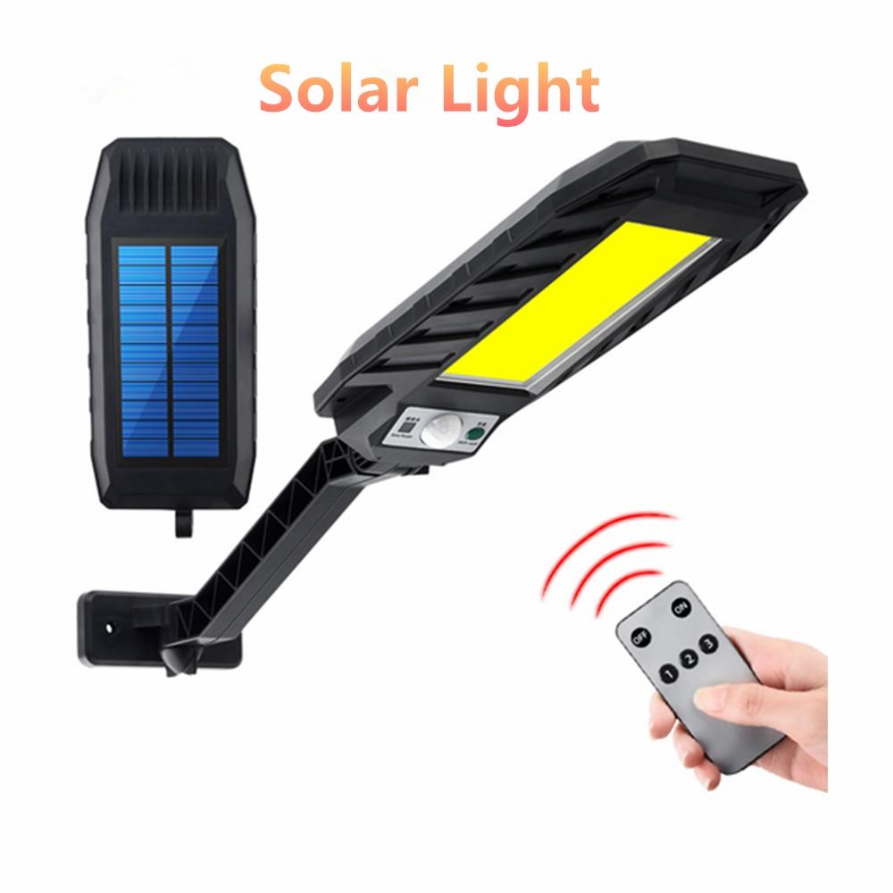 Купить светодиодный светильник на солнечной батарее уличный с регулируемой