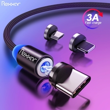 Magnetic USB Cable Fast Charging USB Type C Cable Magnet Charger Micro USB Cable Mobile Phone Cable USB Cord For iphone Samsung