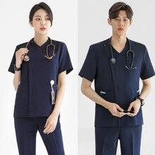 2020 корейская версия новой пластический хирург равномерного разбиения костюм кисти руки одежда оральный стоматологическая медсестра