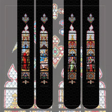 Collants Lolita, collants colorés pour femmes, imprimés par fenêtre, lapin rubis