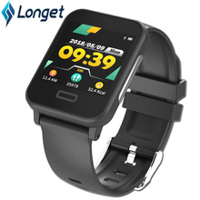 Longet E33 New Smart ECG Bracelet Long Standby Sleep Blood Pressure Heart Rate Monitoring Sports Waterproor for ios Android