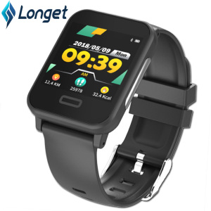 Image 1 - Longet E33 New Smart ECG Bracelet Long Standby Sleep Blood Pressure Heart Rate Monitoring Sports Waterproor for ios Android