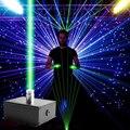 Лазерные огни 50 мВт комбинации лазерный этап DJ музыка шоу педаль управления сценическое освещение Красный Зеленый активированный партии