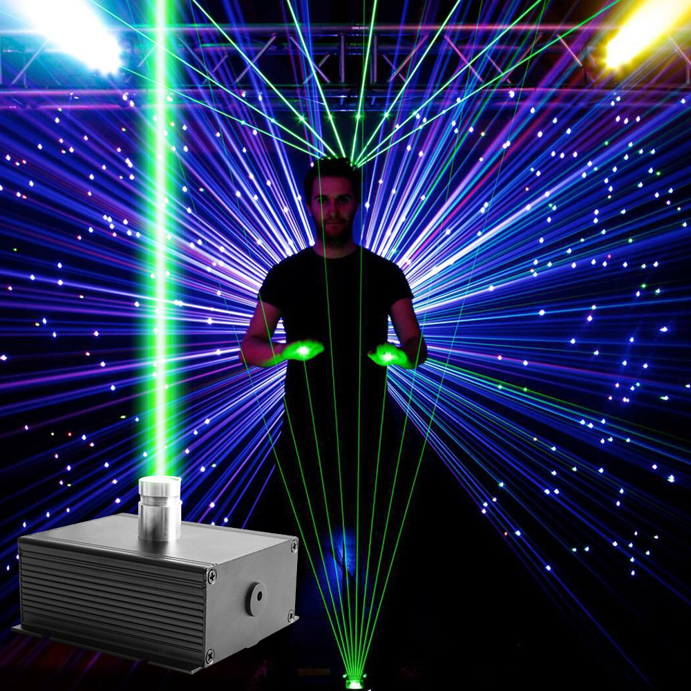 Laser Lights 50mw Combinations Laser Stage DJ Music Show Pedal Control Stage Lighting Red Green Activated Party