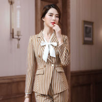 Two piece suit Professional women's suit fashion women's clothing temperament high end trend mature temperament foreign