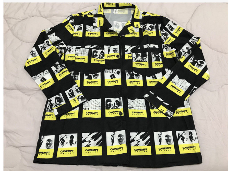 Kpop New  Bangtan Boys Suga Same Shirt Female Male Unisex Long Sleeve Loose Korean Chic Young Group Spring Autumn Shirt