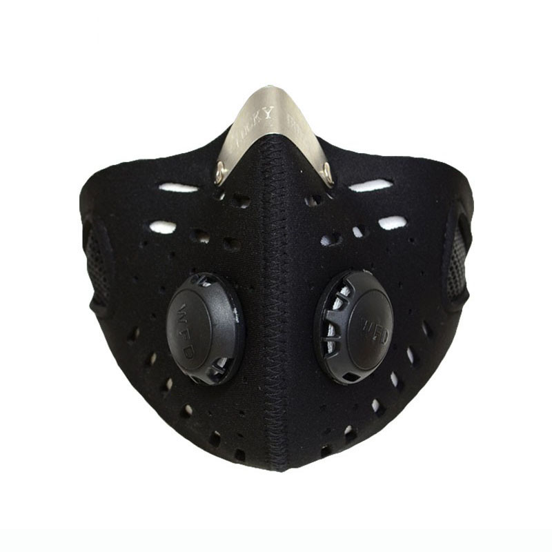 Anti-dust Bicycle Mask Warm Wind Protection Half Face Mask Filter Bike Cycling Motocycle Mask For Outdoor Training Face Protect