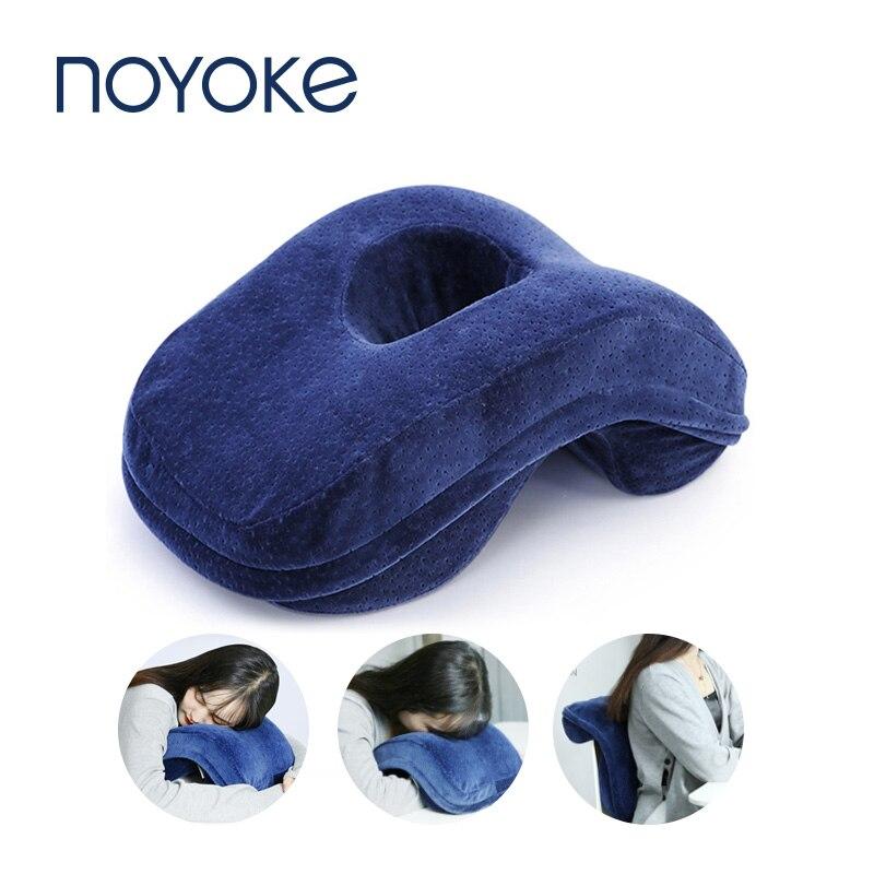 Подушка Noyoke из пены с эффектом памяти, Офисная Подушка для сна в полдень, дышащая Маленькая подушка с медленным реагированием на стол, свободные руки Подушки для тела      АлиЭкспресс