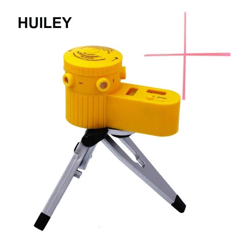 Multi-função de Medição Ferramentas de Medição Nivelador A Laser Pointer Cruz Nível Laser Ferramenta Vertical Horizontal Linha com Tripé