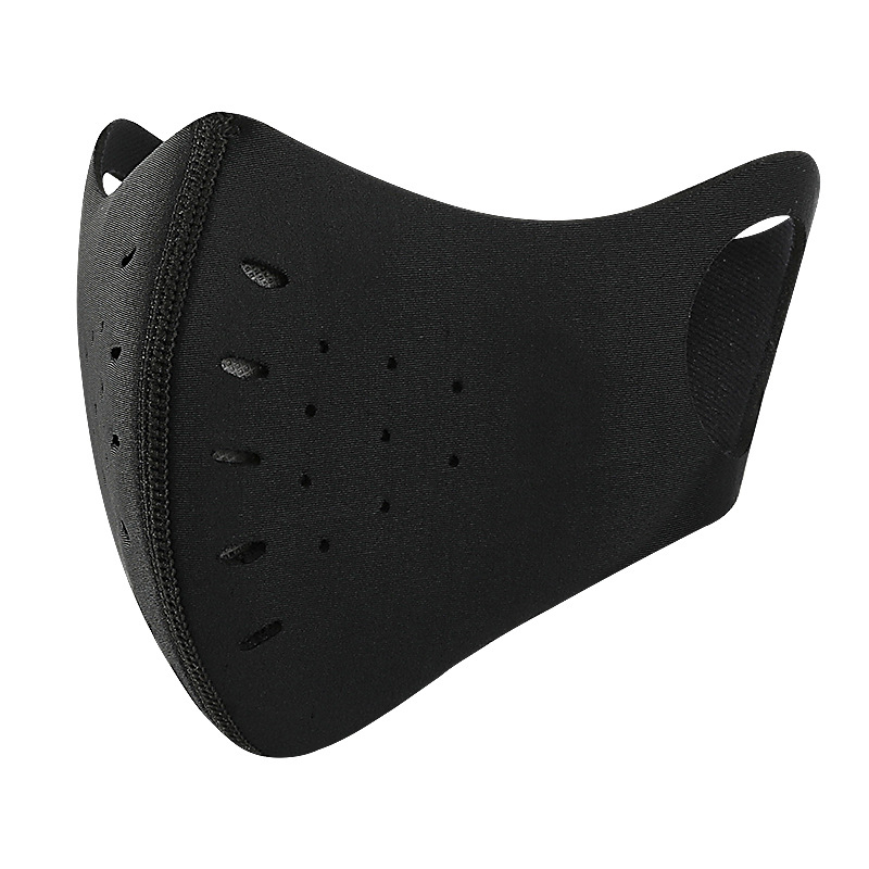 H42ddc70a39304aef96c5ee410ff6f4312 Cycling Face Mask Bicycle Dust-proof Sport Face Mask With Filter Anti-Pollution Running Training MTB Bike Outdoor facemask