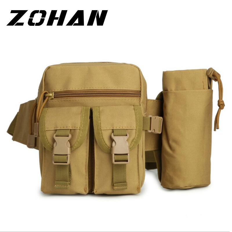 Nice!Outdoors Molle Water Bottle Pouch  Military Airsoft Tactical Gear Kettle Waist Shoulder Climbing Hiking Hunting Bag