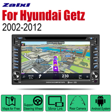 цены ZaiXi Android Car DVD GPS Navi for Hyundai Getz Prime 2002~2012 player Navigation WiFi Bluetooth Mulitmedia system audio stereo