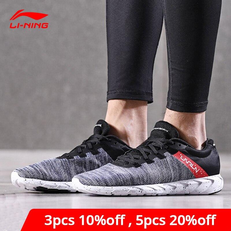 Li-Ning Men's Future Runner Sport Light Running Shoes Breathable Sneakers LiNing Li Ning Comfort Sport Shoes ARBN003 XYP628