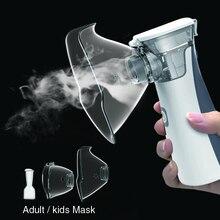 Medizinische ausrüstung Vernebler Handheld Asthma portatil inhalator Zerstäuber inhalator für kinder mini Tragbare nebulizador