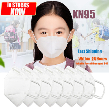 KN95 Children 's Mask for Boy and Girl 4-ply Protection Safety Healthy Dustproof Kids Mask KN95 Mouth Mask 3-12 Years Old Kid